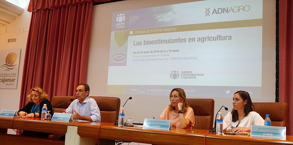 Jornada técnica de Bioestimulantes en Cajamar