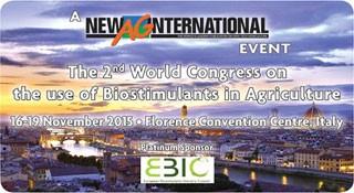 segundo congreso mundial sobre el uso de los bioestimulantes agrícolas